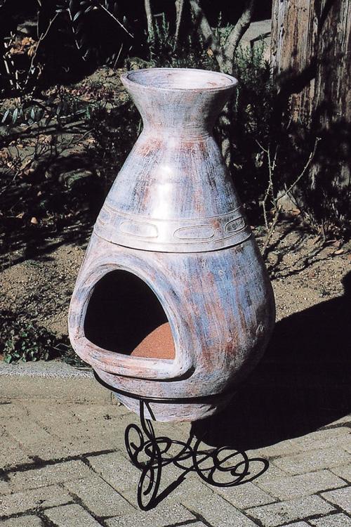 メキシカンガーデンポット TH-1セット(85011)(ジャービス商事)エクステリア ガーデン用品 ガーデンファニチャー ウォームアイテム バーベキュー 暖炉