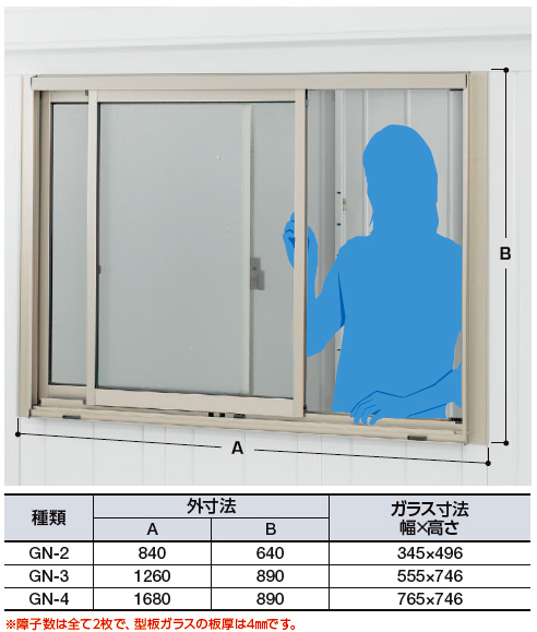 イナバ物置 オプション ガラス窓 GN-3H(ガラス付き)(※表示価格は本体同時購入時の金額になります)