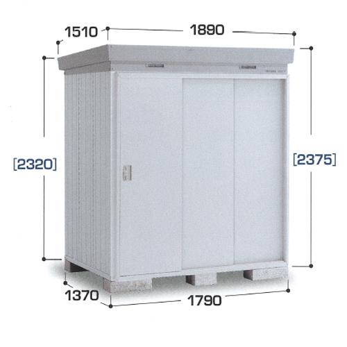 イナバ物置 ネクスタプラス NXP-25HT(ハイルーフ/扉タイプ/一般型多雪地型) 物置き 中型 屋外 収納庫