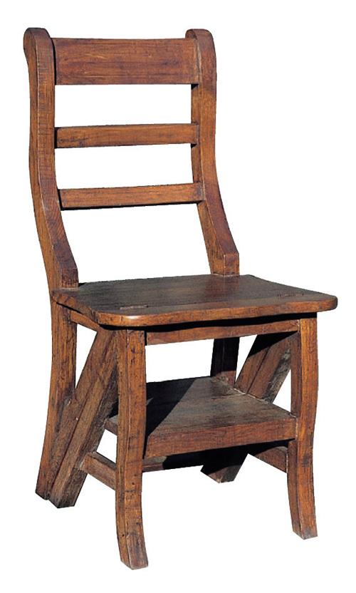 ステップチェア(36327)(ジャービス商事)ファニチャー 家具 チェアー イス 椅子 インテリア 室内向き マホガニー 木製