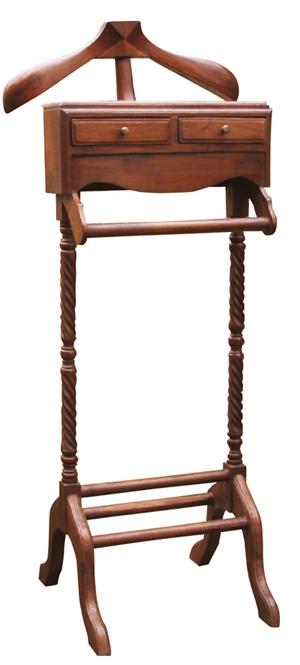 スーツハンガー(70086)(ジャービス商事)ファニチャー 家具 インテリア ディスプレイ 収納 木製 チーク