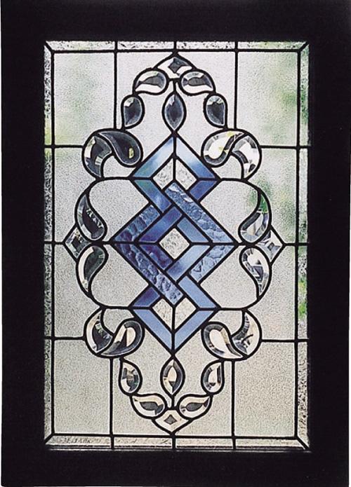 ステンドグラス 広がり(87001)(ジャービス商事)ウォールデコレーション インテリア インテリアガラス ディスプレイ レトロ