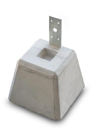 束石 プレート付き 150×6個