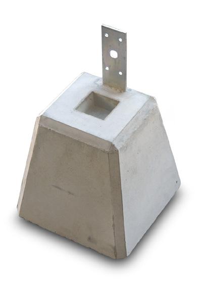 束石 プレート付き 180×6個