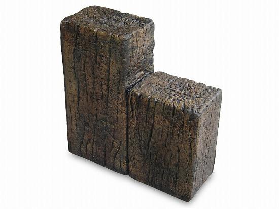 コンクリート枕木スリーパーエッジャー A 段違2連×3個