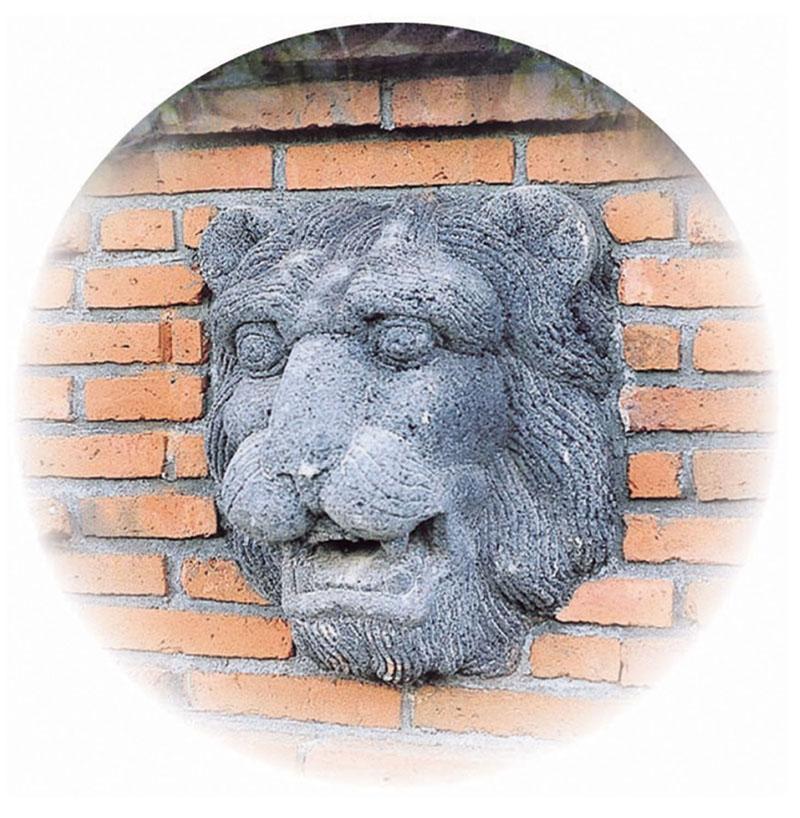 数量は多 壁泉 フェイス(28307)(ジャービス商事)エクステリア ウォーターガーデン 水まわり用品 ガーデン用品 噴水 獅子 自然石:エクシーズ ライオン-エクステリア・ガーデンファニチャー