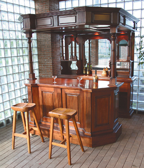 アルバートバー(31301)(ジャービス商事)ファニチャー 家具 インテリア ディスプレイ バーカウンター 木製 店舗 レストラン カフェ