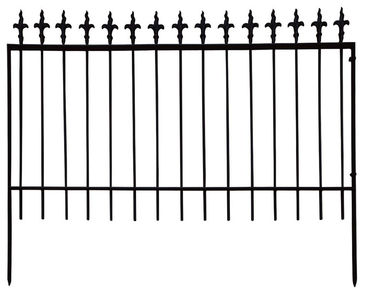 アイアンフェンス3型 1208(38626)(ジャービス商事)エクステリア 門扉 門扉 フェンス ガーデン ガーデン 門まわり 門まわり アイアン, 京のみやび:fe894624 --- m2cweb.com