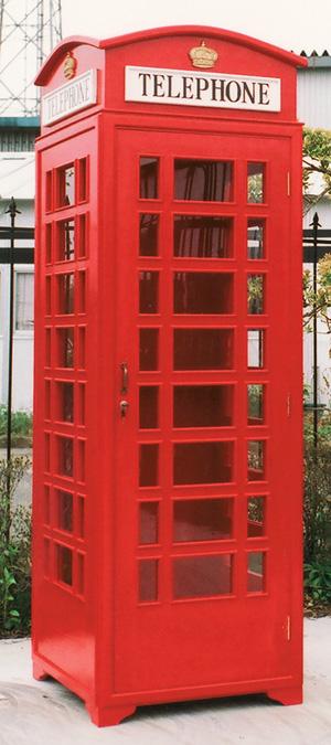 テレフォンボックス ボックス 赤(35217R)(ジャービス商事)大型オブジェ 施設用品 ディスプレイ用品 内装 施設用品 内装 店舗用品 ボックス レッド 英国 イギリス, サカウチムラ:2eda9476 --- novoinst.ro