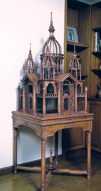 アンティーク鳥かご ムガール型(15407)(ジャービス商事)インテリア 大型オブジェ ディスプレイ用品 置物 鳥籠