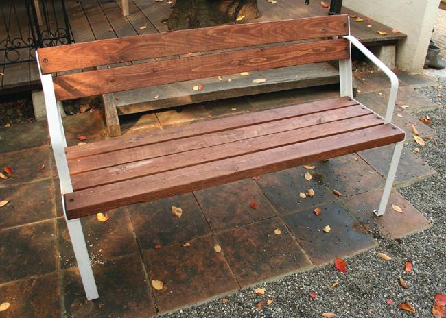 オーストリアベンチ(34242)(ジャービス商事)ガーデンファニチャー ガーデン家具 ガーデンベンチ ガーデンチェア 椅子 イス チーク 木製