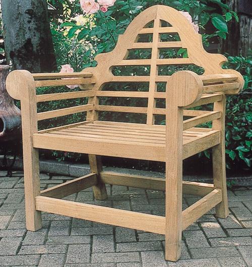 貴族チェア(20719)(ジャービス商事)ガーデンファニチャー ガーデン家具 ガーデンチェア 椅子 イス チーク 木製