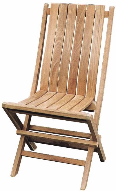 送料無料 家具 屋外向 ガーデンファニチャー ガーデンチェア 折り畳みデラックスチェア(20810)(ジャービス商事)ガーデンファニチャー ガーデン家具 ガーデンチェア 椅子 イス チーク 木製