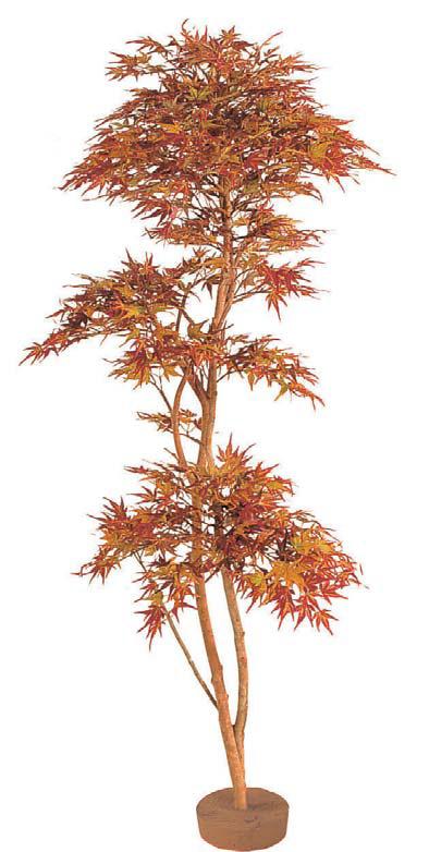人工植物 和風もみじ 紅葉もみじ 鉢無 1.8m GD-52L(21533100)(タカショー)送料無料 グリーンデコ和風 人工樹 室内用 インテリア