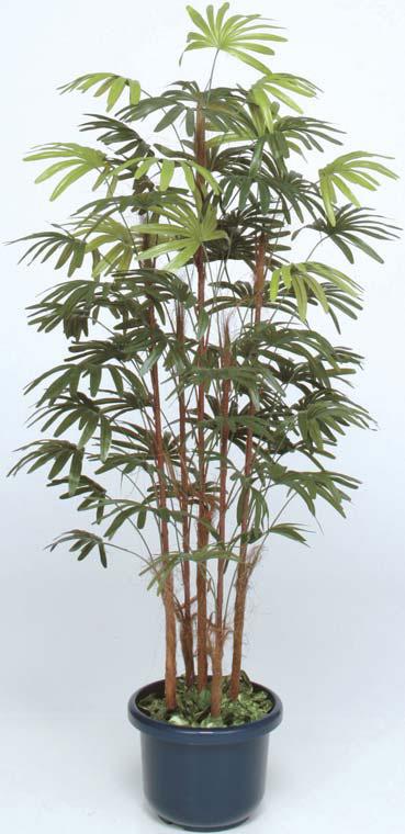 人工植物 シュロチク5本立 鉢付 1.5m GD-127S(21552200)(タカショー)送料無料 観葉植物 人工樹 室内用 インテリア グリーンデコ