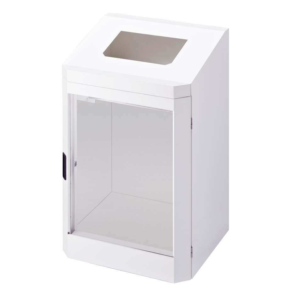 ダストハウスLE(ミヅシマ工業)分別屑入 ゴミ箱 屑カゴ 施設用品 スチール製