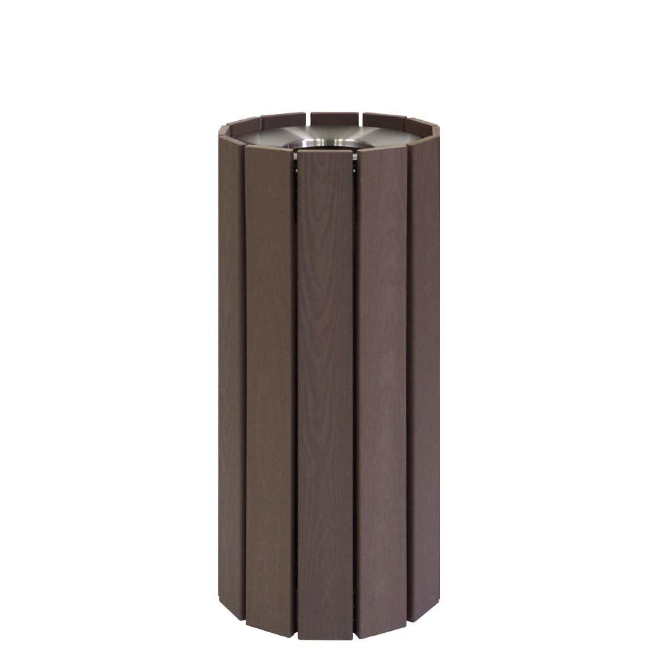 RWシステム スモーキングスタンド 364-0040 再生樹脂(ミヅシマ工業) 灰皿 施設用品 スチール製 PET樹脂製 内容量2.1リットル 本州・四国・九州送料無料