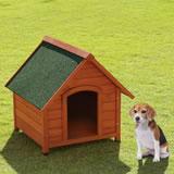 【送料無料】木製犬舎700 超小型~中型犬用(犬小屋、ペットハウス)