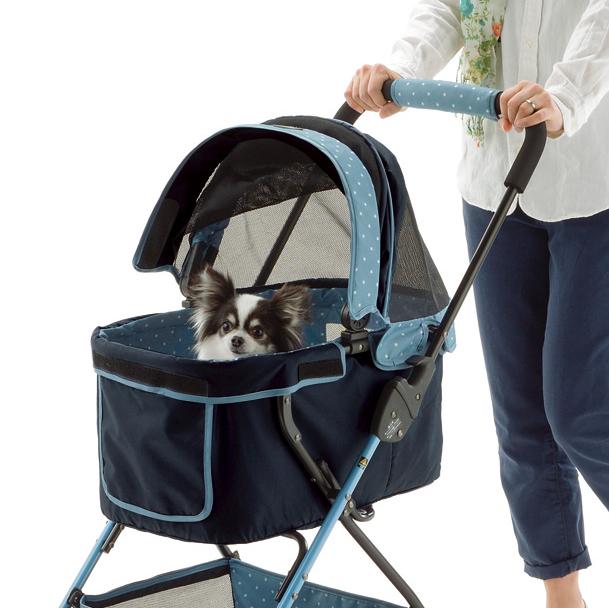 【送料無料】ペットカート エルフィ 小型犬・猫用バギー