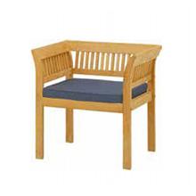 チークスタイル フウガ アームチェアーTRD-039C(33884900)(タカショー)送料無料 ガーデンファニチャー ガーデンチェアー 椅子 イス 天然木