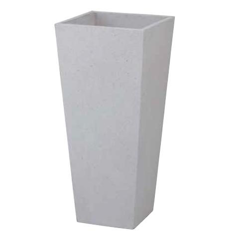ポリテラゾ ロングポット アレグロ(大)ホワイトPIA-L01LW(36799300)(タカショー)送料無料 ガーデンアクセサリー ポット プランター 鉢植え 白