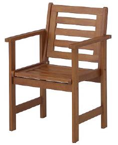 オックスフォードチェアー MWF-08C(34606600)(タカショー)送料無料 ガーデンファニチャー ガーデン家具 ガーデンチェアー 椅子 イス 木製