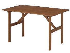 オックスフォードテーブル MWF-08T(34605900)(タカショー)送料無料 ガーデンファニチャー ガーデン家具 ガーデンテーブル 机 木製
