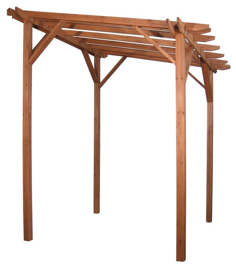 ウッディー ストレートパーゴラ WPG-002(57803000)(タカショー)送料無料 エクステリア パーゴラ 木製 天然木