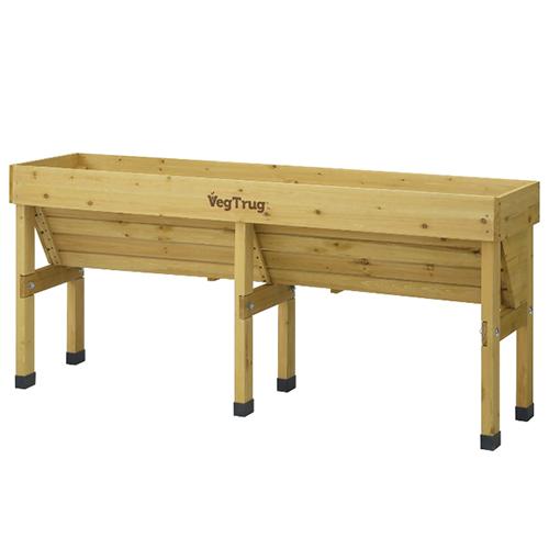 ホームベジトラグ ウォールハガー LVGT-WH02(56638900)(タカショー)送料無料 ガーデニング ガーデン プランター 木製