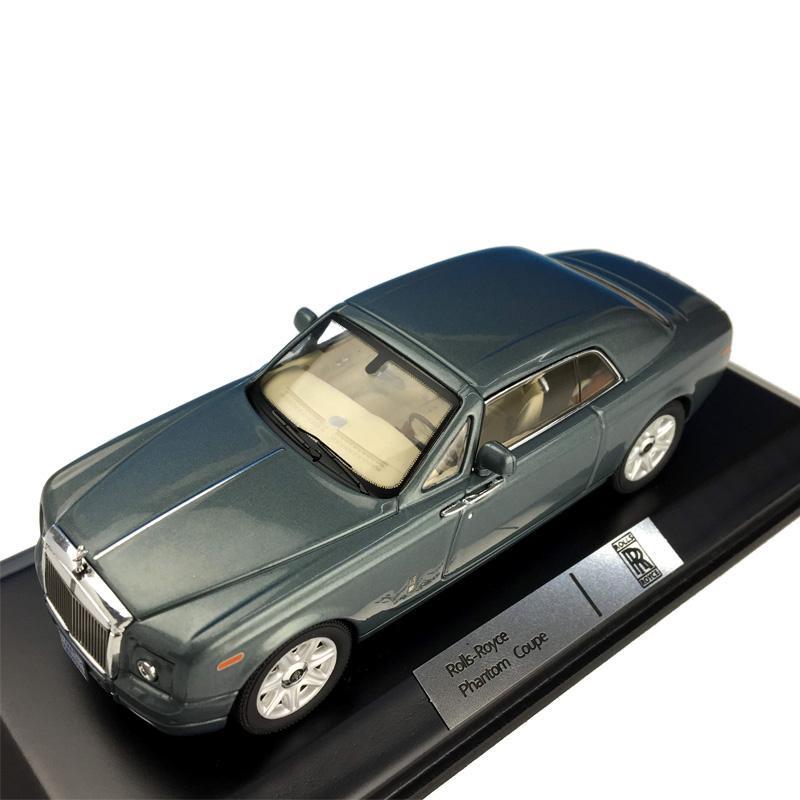 お得クーポン発行中 ixo イクソ ロールス ロイス ファントム クーペ 43スケール 2008 メタリックグリーン MOC166PRR本物を忠実に再現したモデルカー MOC166PRR 別倉庫からの配送 1