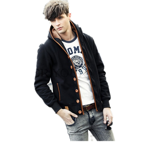 【送料無料】メンズ カジュアル パーカー コート きれい目 彼氏 男性 アウター 黒 大きいサイズ 激安 メンズ パーカー ジャケット