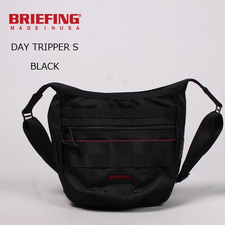BRIEFING (ブリーフィング) DAY TRIPPER S - BLACK ショルダーバッグ