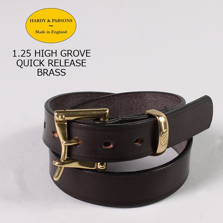 HARDY & PARSONS(ハーディアンドパーソンズ) 1.25 HIGH GROVE QUICK RELEASE-BRASS / DKHAVANA
