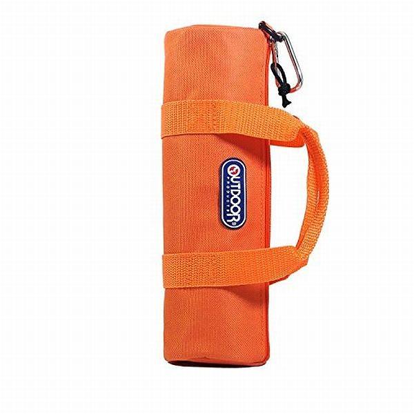 ボトルカバー 水筒ケース オレンジ 500ml ロールボストン型 [ギフト/プレゼント/ご褒美] 保冷 5☆好評 アウトドア 保温