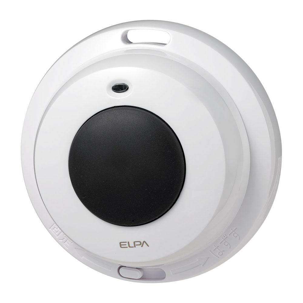 ワイヤレスコール ELPA 18%OFF ワイヤレスチャイム EWS-P32 開店記念セール 増設用 朝日電器 ワイヤレスチャイム防水押しボタン送信器 エルパ