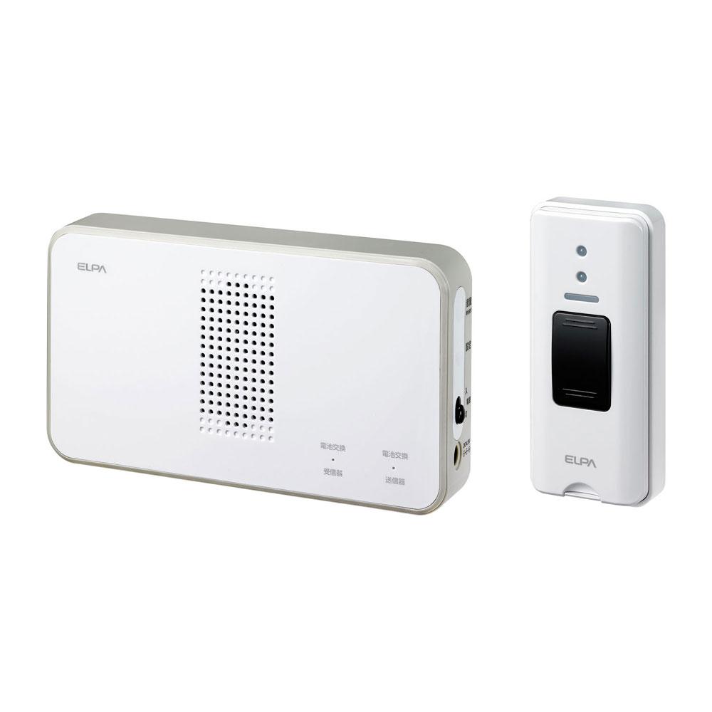 ワイヤレスコール SALE開催中 ELPA ワイヤレスチャイム EWS-S5030 ワイヤレスチャイム押しボタンセット 朝日電器 エルパ 低廉