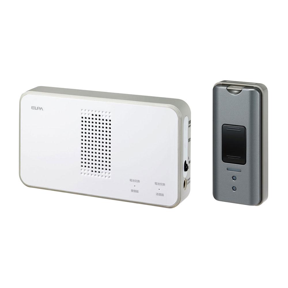 ワイヤレスコール ELPA 18%OFF ワイヤレスチャイム EWS-S5031 絶品 エルパ ワイヤレスチャイム押しボタンセット 朝日電器