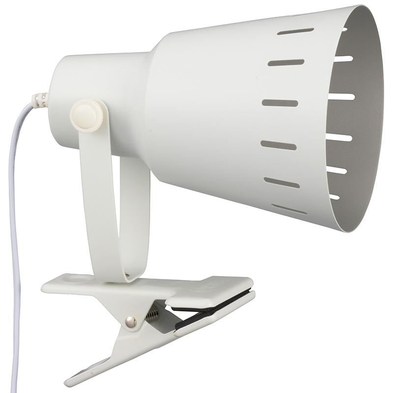 屋内照明 クリップライト LEDクリップライト E26 _06-0833_LTC-N126AW-W_OHM 購買 国内正規品 オーム電機 電球別売 ホワイト