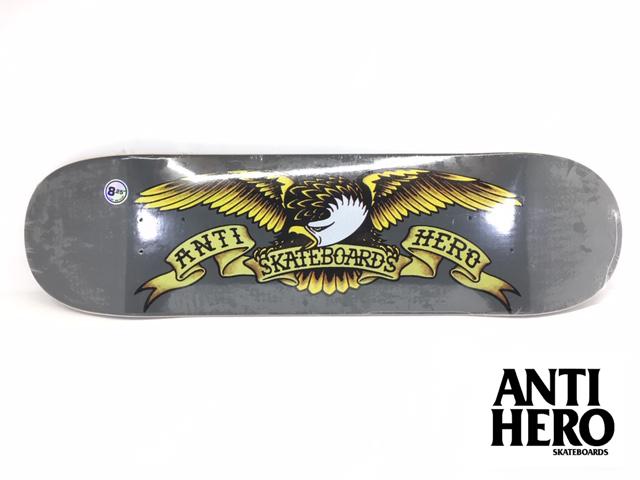 ANTIHERO スケートボード デッキ 8.25インチ【 ANTIHERO CLASSIC EAGLE 8.25 】 スケボー アンチヒーロー アンタイヒーロー SKATEBOARD, クイーンアイズ 532d6e8b