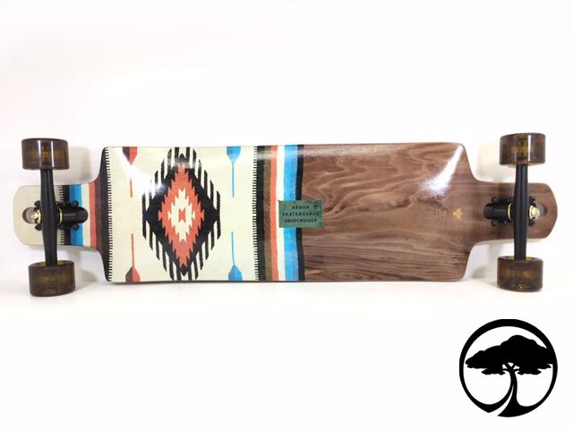 ARBOR スケートボード DROPCRUISER FLAGSHIP 38インチ