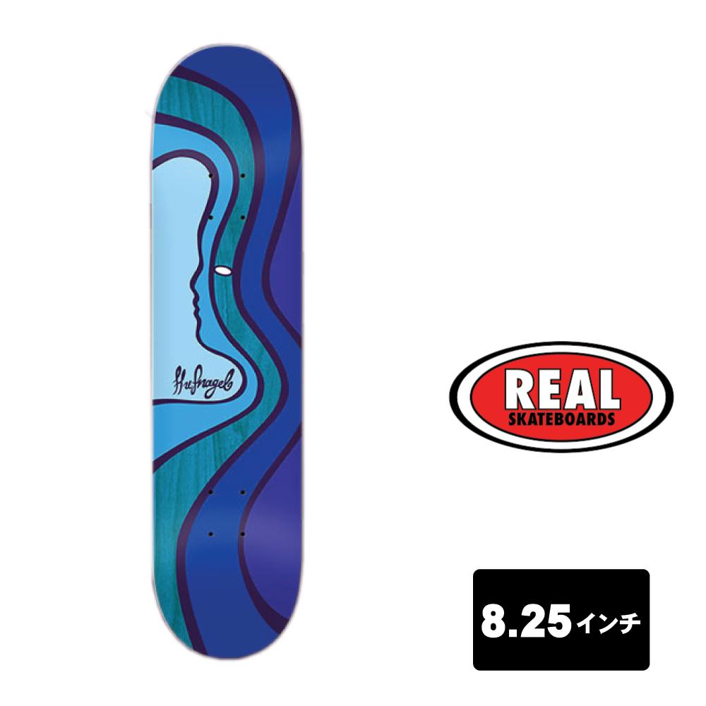 REAL スケートボード デッキ 8.25インチ【 MORE LOVE KEITH HUFNAGEL HUF 】 スケボー リアル SKATEBOARD