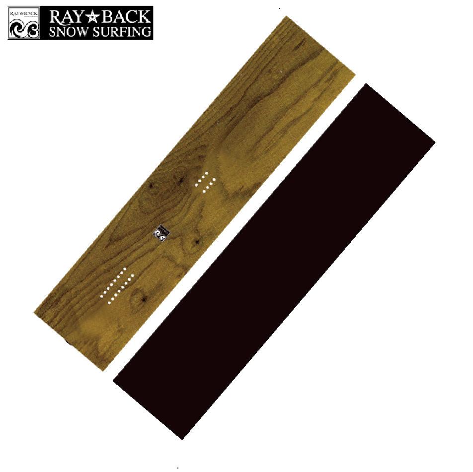 選べる特典付 20 RAYBACK Shapers Blanks -156cm Rocker-Natural.C[FINKEEL Shape] パウダー フリーライド スノーボード ニットケース付 正規品