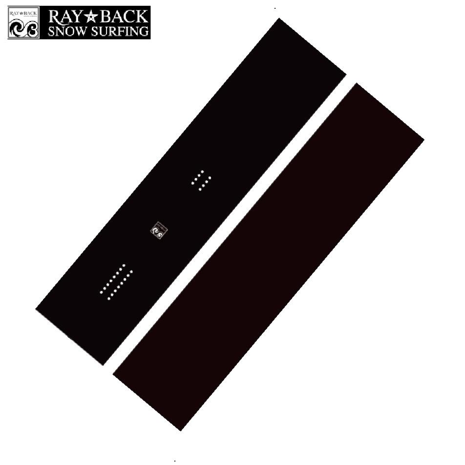 選べる特典付 20 RAYBACK Shapers Blanks -156cm Rocker-MatteBlack[FINKEEL Shape] パウダー フリーライド スノーボード ニットケース付 正規品