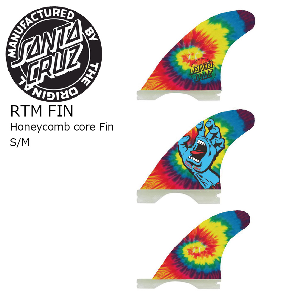 SANTA CRUZ RTM FIN Honeycomb Core Fin LIGHT サンタクルーズ サーフボードフィン