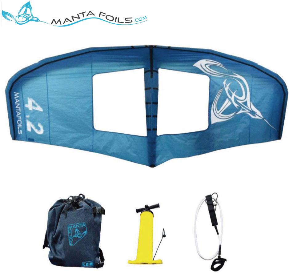 MANTA FOILS Manta Wing 4.2 マンタ フォイル マンタ ウィング カイト フォイル インフレータブル