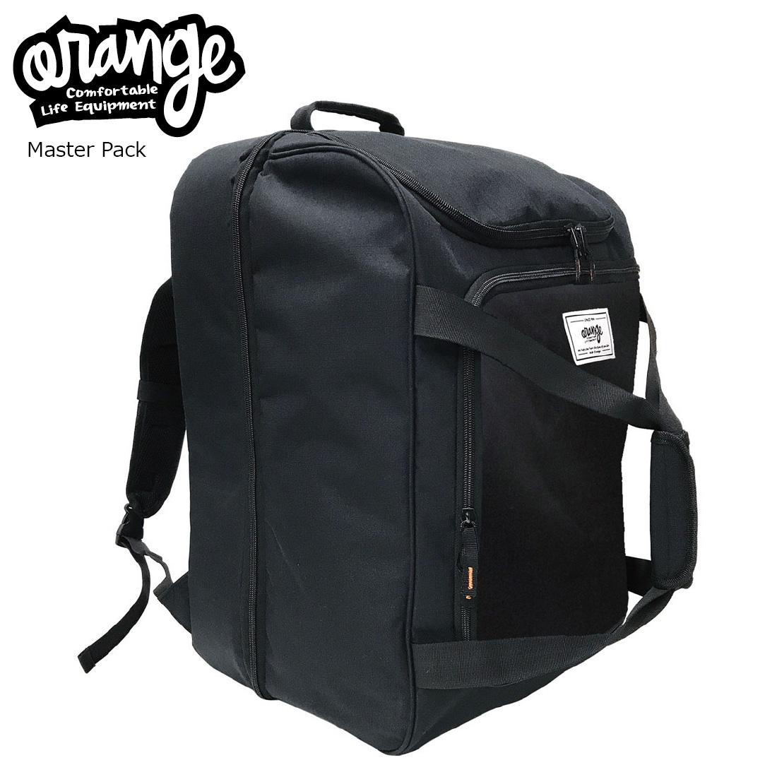 Oran'ge Master Pack 1001 Black オレンジ ブーツ・ヘルメット・ブーツバック 2層 ショルダー付