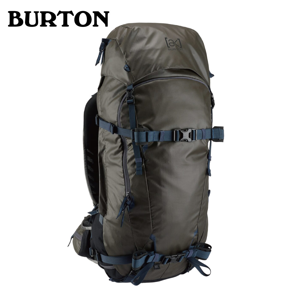 Burton 20SS AK Incline 40L Pack Faded Coated RipStop バートン エーケー インクラインパック バックパック リュック