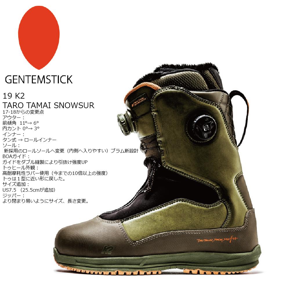 19 TARO TAMAI SNOWSURFER EVER GREEN バックカントリー パウダー タマイタロウ K2 ケーツー ゲンテン スノーサーファー 18-19 19Snow