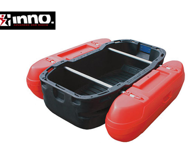 INNO フロートボート デビルレッド カーメイト CARMATE Z1DR 沼での釣り等に最適!!車に積める大きさ!!フロートボート 組立式ボート