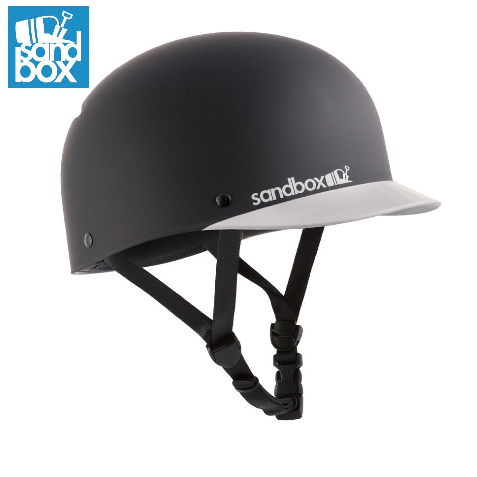 SANDBOX Helmet Classic 2.0 Low Rider BlackTeam(Mat/Gls) サンドボックス クラシック2.0 ロー ライダー ウォータースポーツ スケートボード